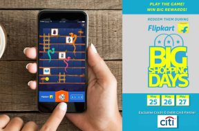 Flipkart Snakes and Ladders