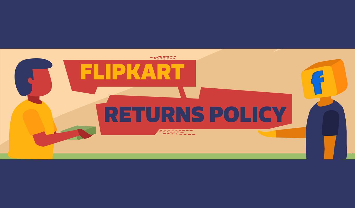 Flipkart product returns process – How it works