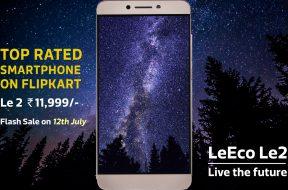 LeEco Le2 - Flash Sale on July 12