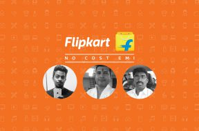 No Cost EMI Flipkart customer stories