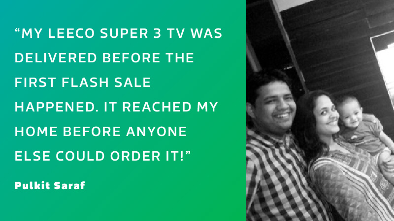 Flipkart delivery surprise customer delight