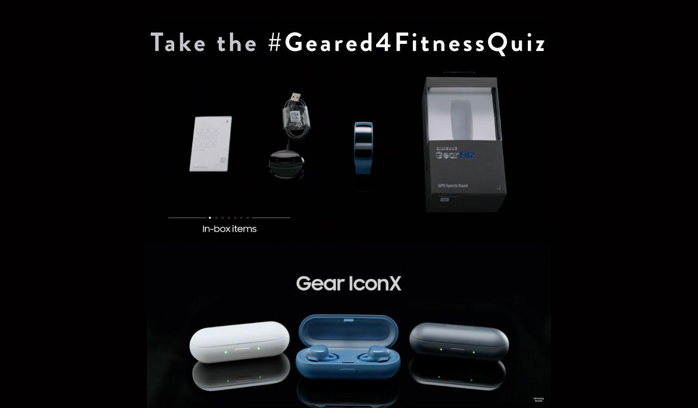 Weekly Quiz – Play the #Geared4FitnessQuiz