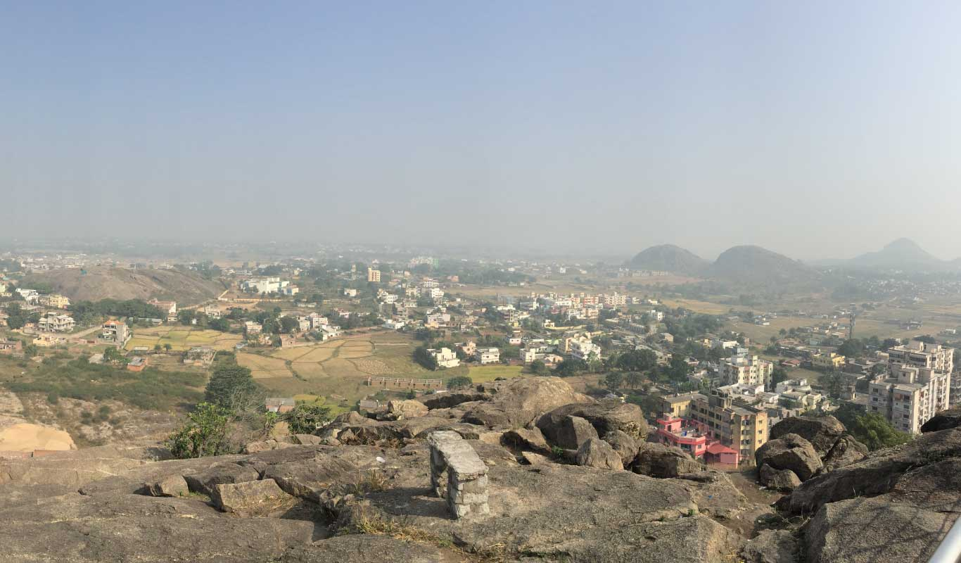 Ranchi from tagore Hill