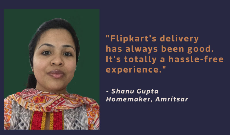 Flipkart women customers in non-metro cities