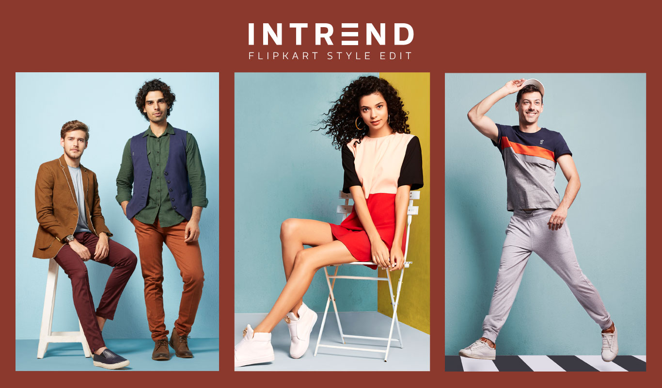 Stay in style with Flipkart INTREND – Autumn-Winter 2016 collection