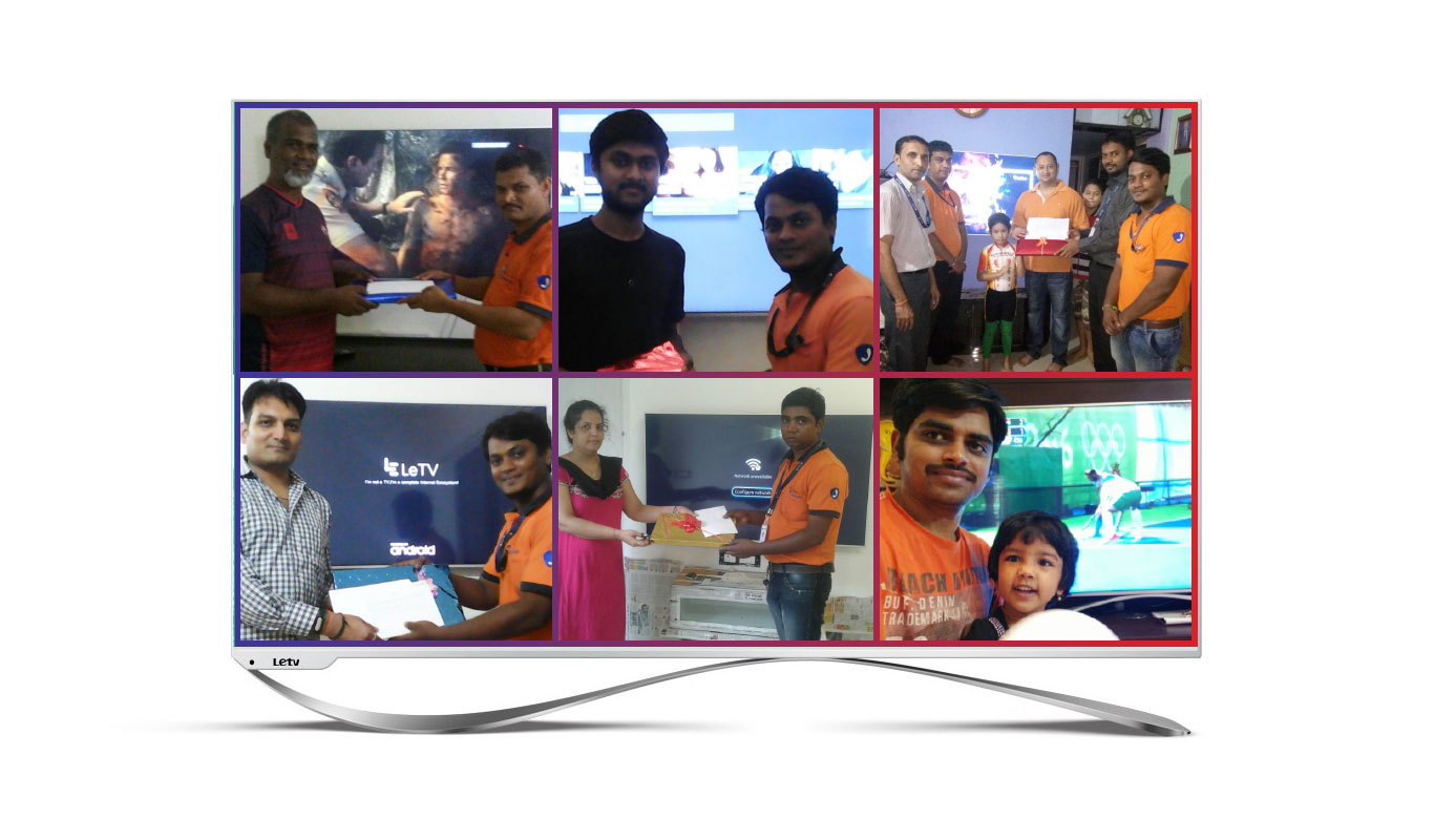 Knock, knock! Flipkart delivers a smart TV, and a sweet surprise!