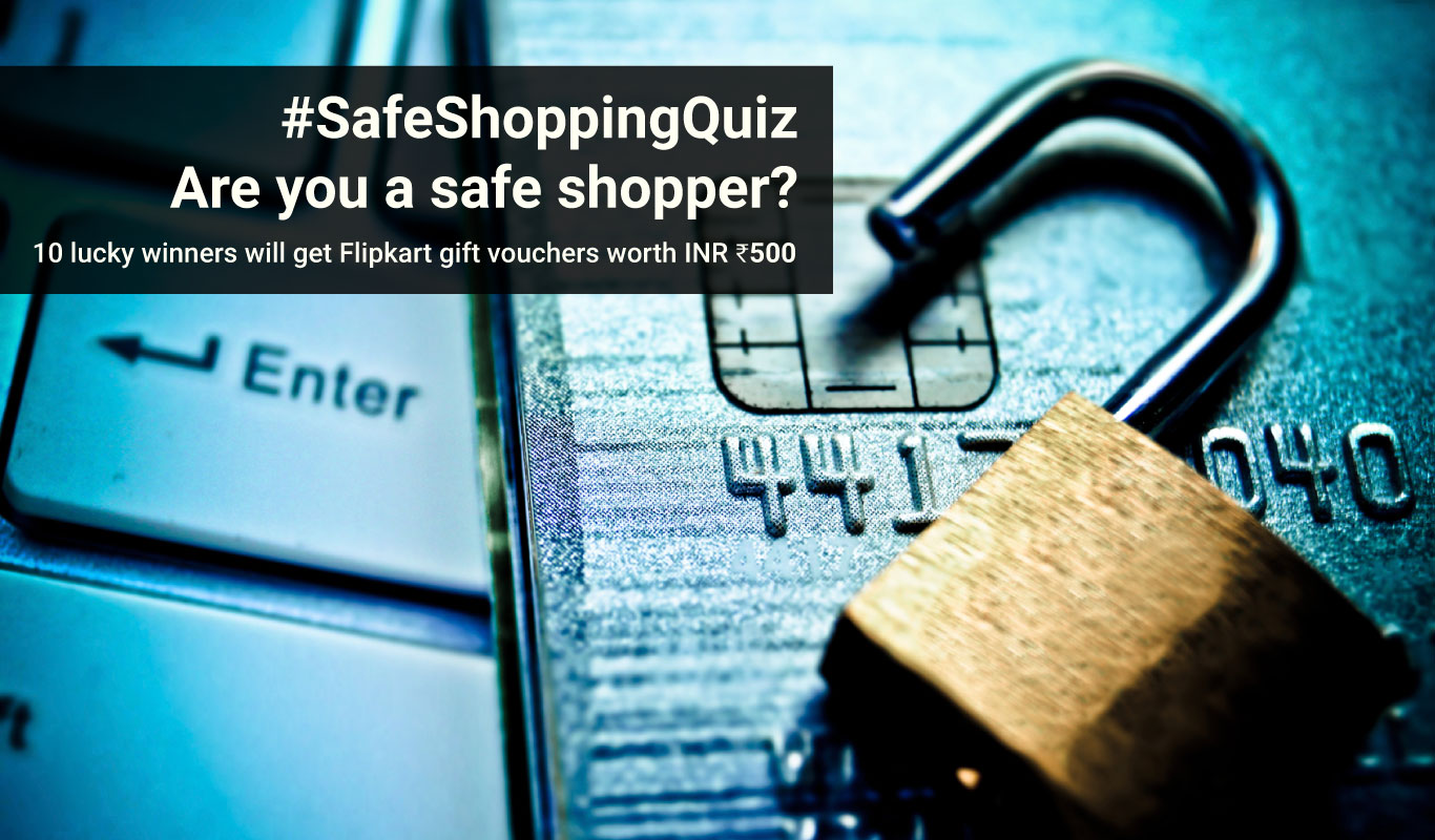 #SafeShoppingQuiz – Are you a safe shopper?