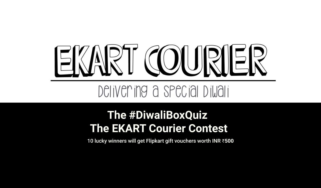 The Ekart Courier Diwali Contest – #DiwaliBoxQuiz