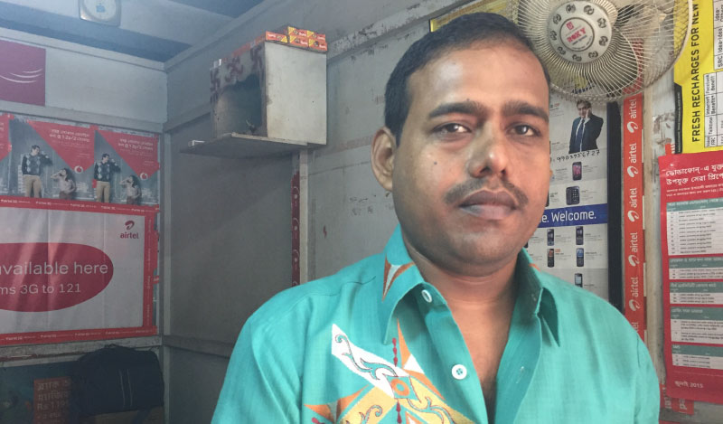 Flipkart customer in Asansol, Subhendu Maji