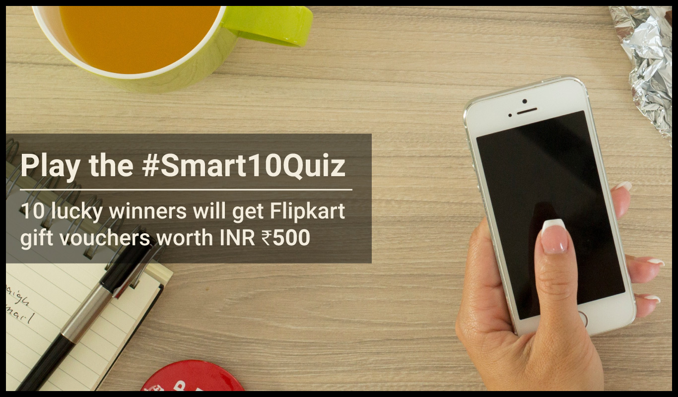 #Smart10Quiz – The Flipkart Stories budget phone contest