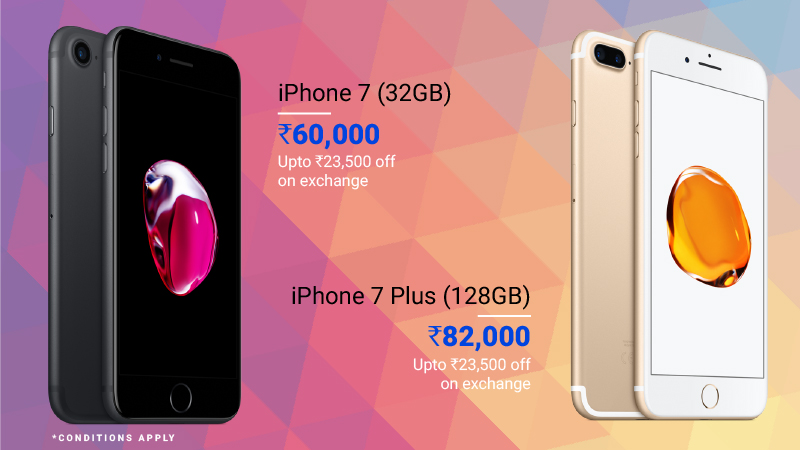 premium smartphone deals iPhone 7