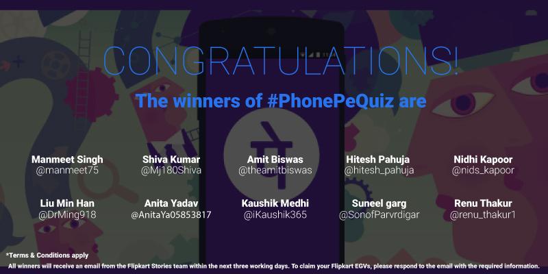 PhonePe contest
