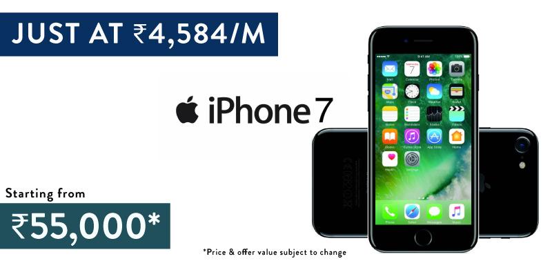 No Cost EMI deals iPhone 7