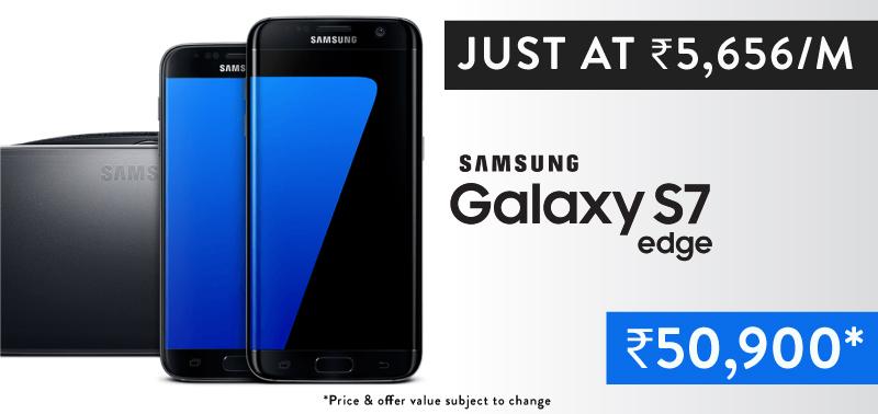 Flipkart No Cost EMI Best Deals on Samsung Galaxy Edge 7