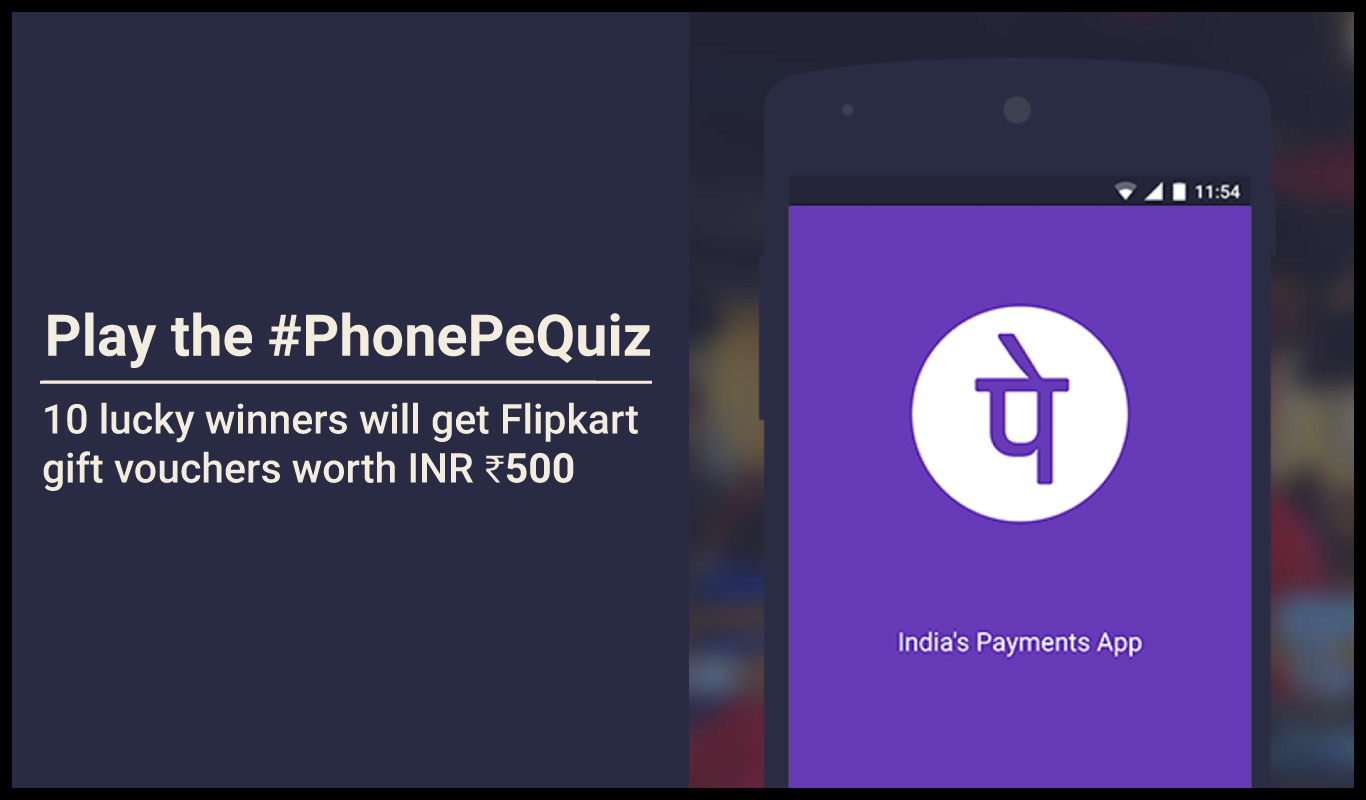 #PhonePeQuiz – Are you ready to go cashless?