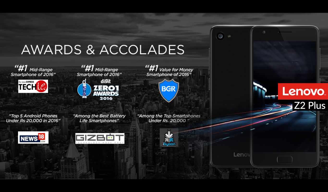 The award winning Lenovo Z2 Plus – Smart meets reliability