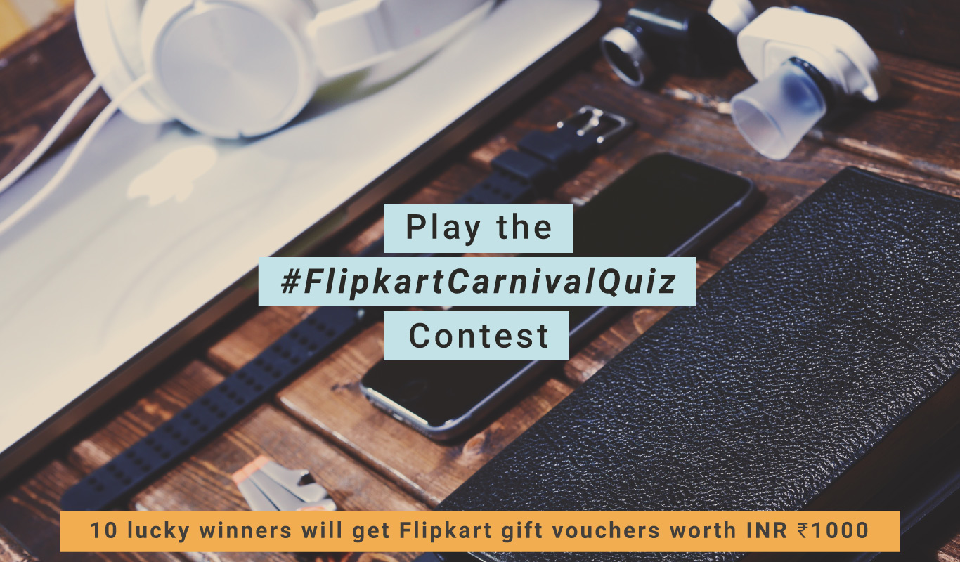 #FlipkartCarnivalQuiz – The Flipkart Accessories Carnival sale contest