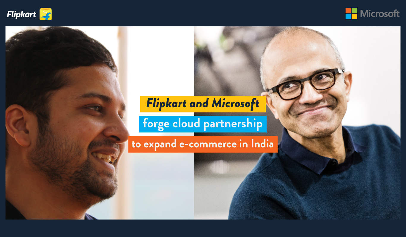 Flipkart and Microsoft forge cloud partnership to expand e-commerce in India