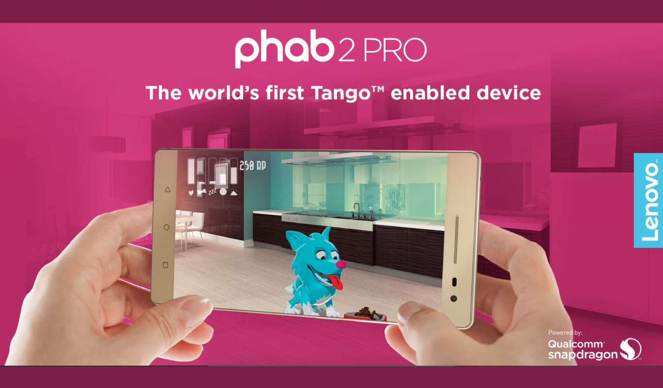 Enter a #PHAB new dimension with the Lenovo Phab 2 Pro