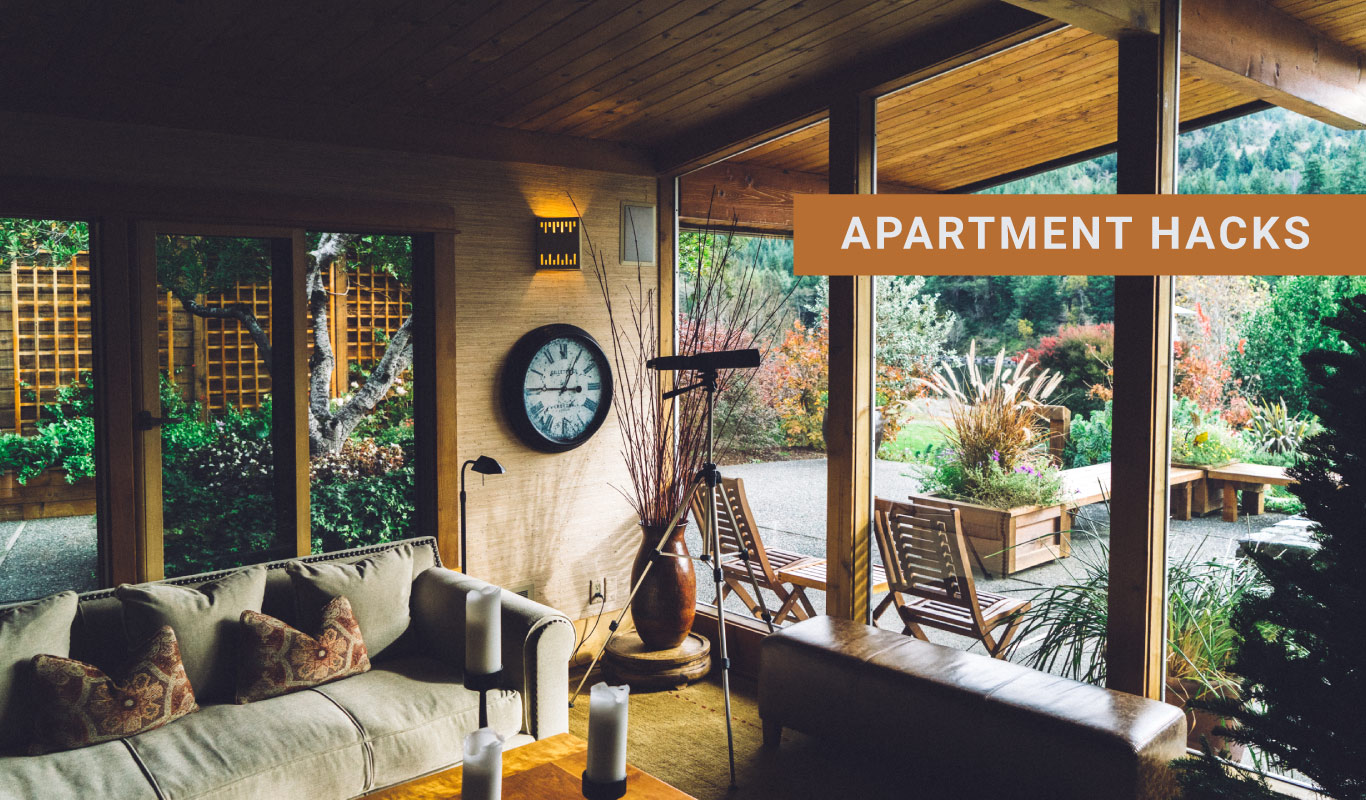 Easy apartment hacks to make your home look bigger