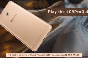 Samsung Galaxy C9 Pro contest