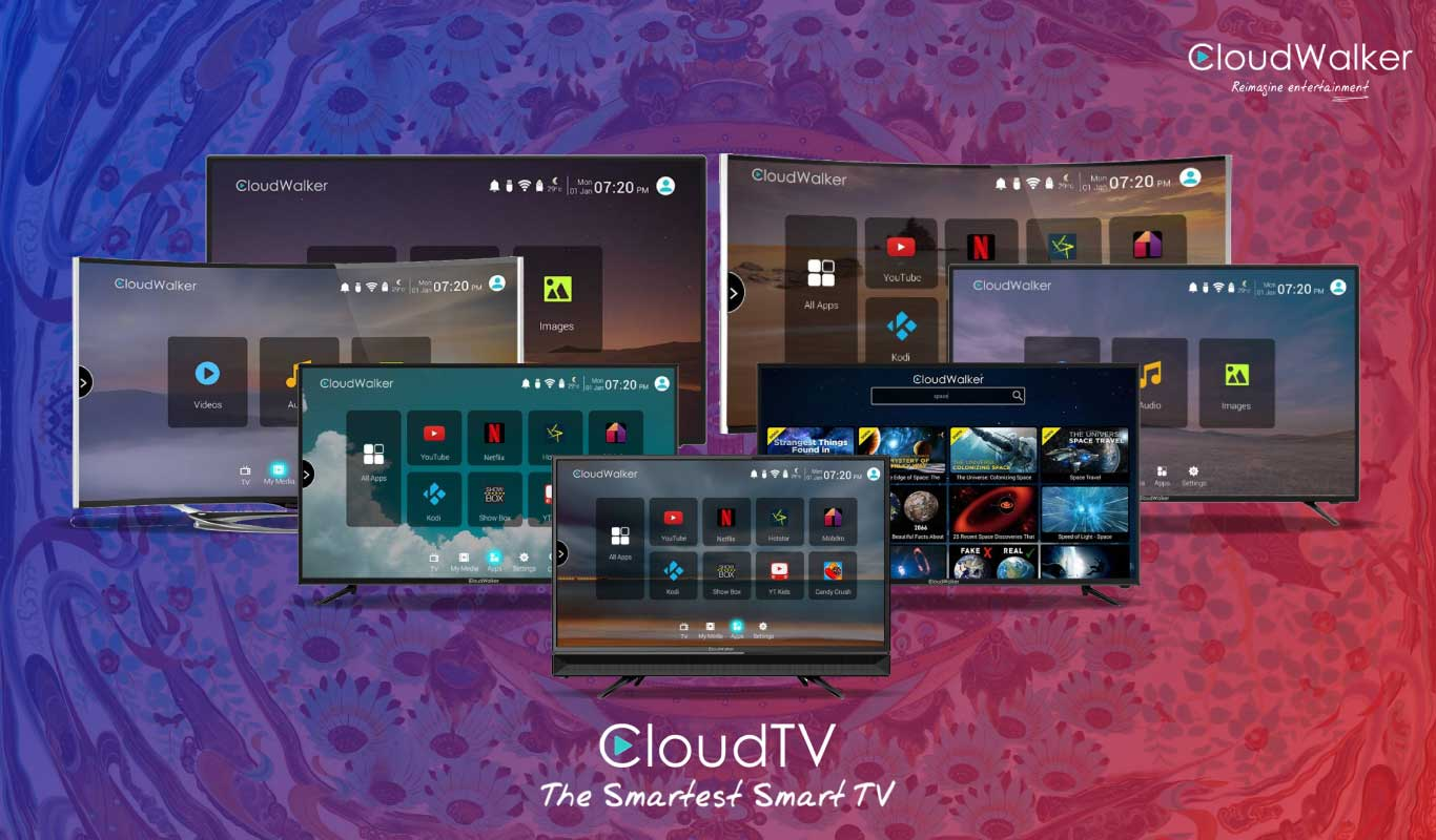 Flipkart Exclusive CloudWalker Cloud TVs – Immerse in a smarter television viewing experience