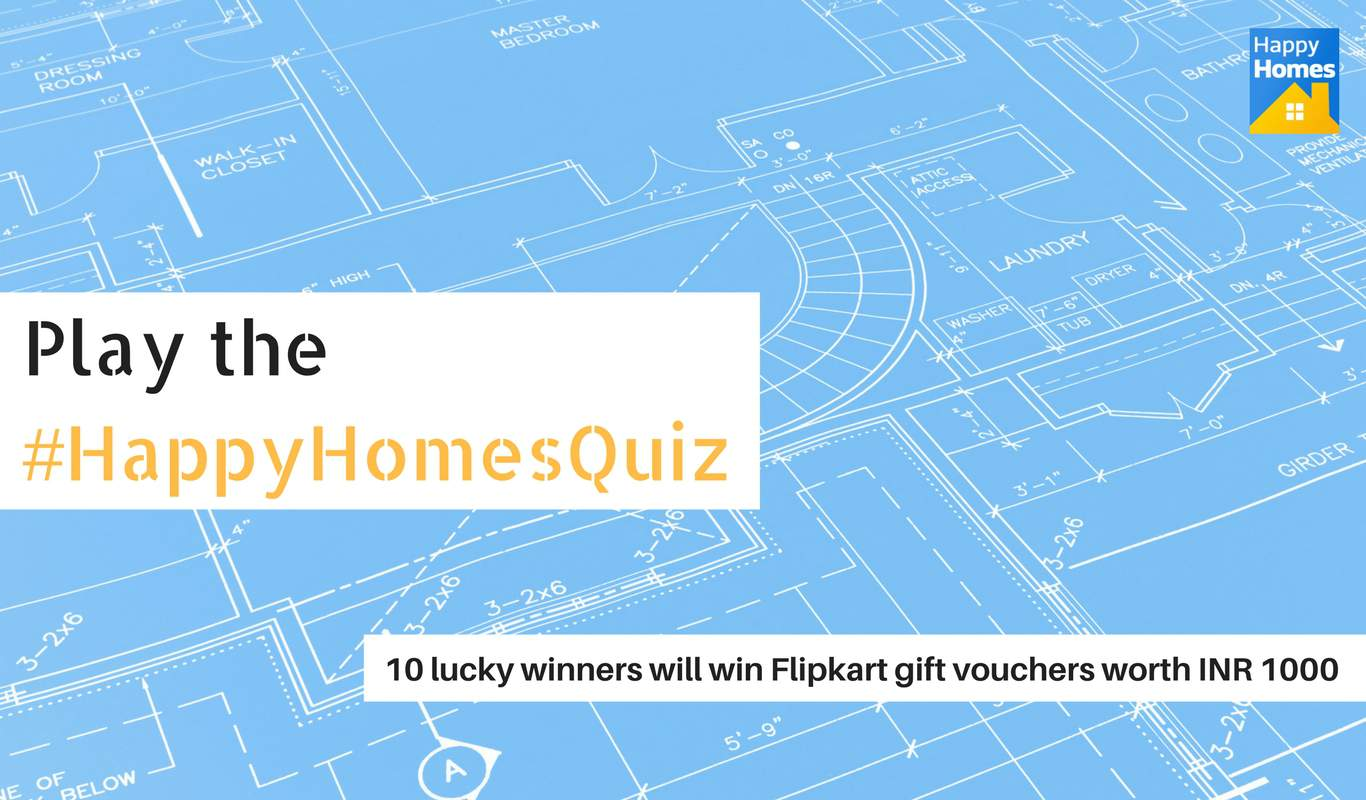 #HappyHomesQuiz – The Flipkart Happy Homes Sale Contest
