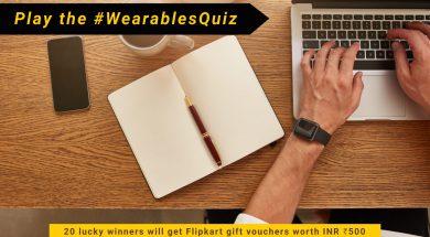 Flipkart Smart Wearables Contest