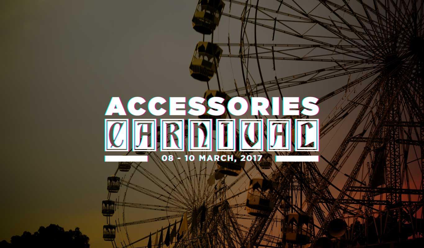 Flipkart Accessories Carnival is Back– Fascinating deals on top brands