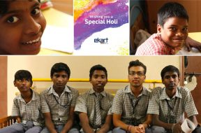 Ekart Holi Cards - Samarthanam Trust for the Disabled