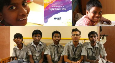 Ekart Holi Cards - Samarthanam Trust for the Disabled