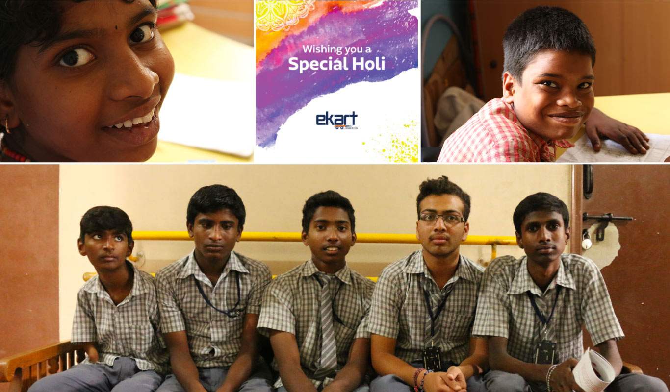 Art with heart — meet the gifted artists behind Ekart's Holi cards