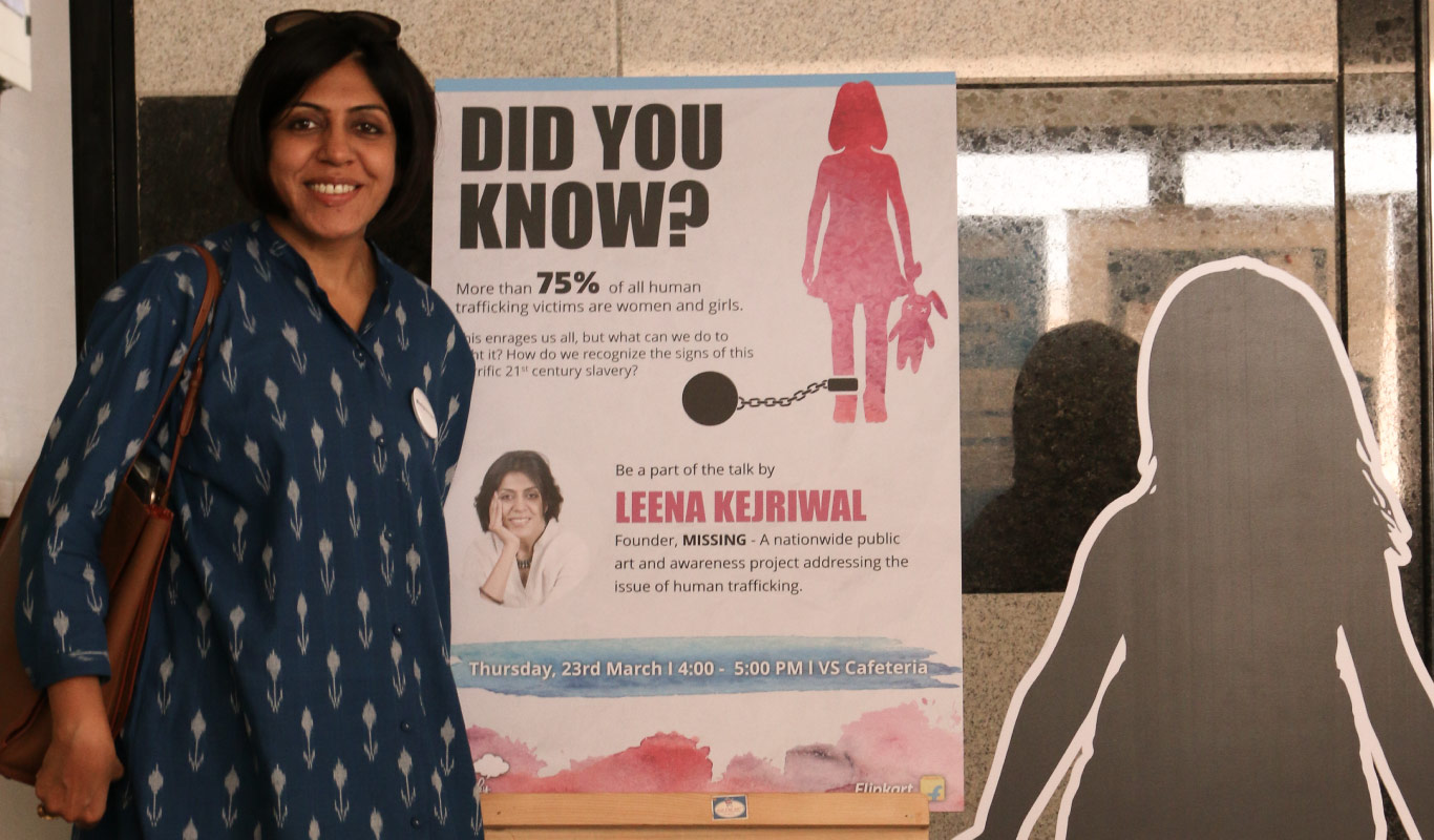 Listen to Leena Kejriwal on sex trafficking – there's no M.I.S.S.I.N.G. the point