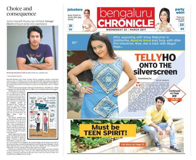 Saurabh Sharma in the press