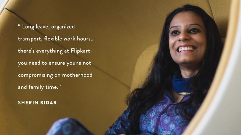 #WomenOfFlipkart Sherin Bidar