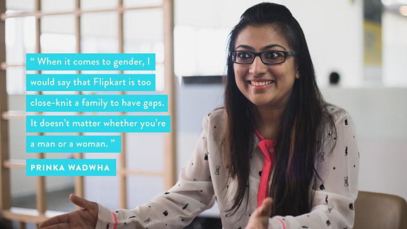 #WomenOfFlipkart Prinka Wadhwa