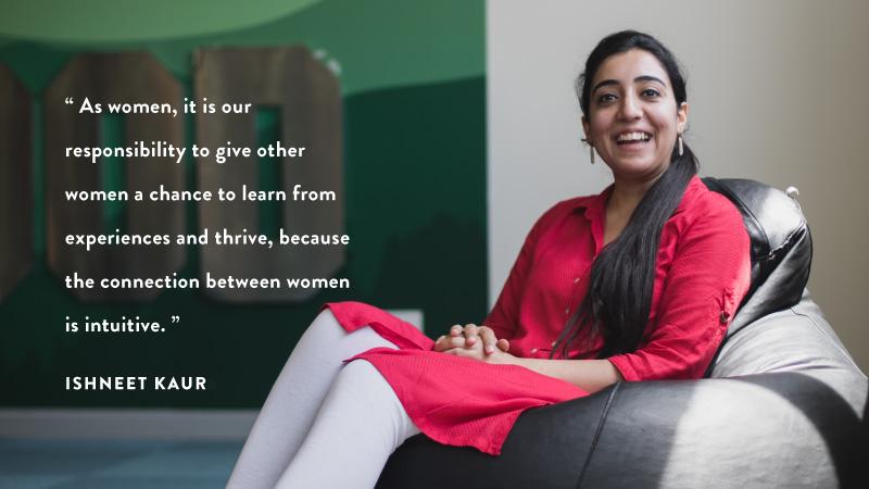 #WomenOfFlipkart - Ishneet Kaur