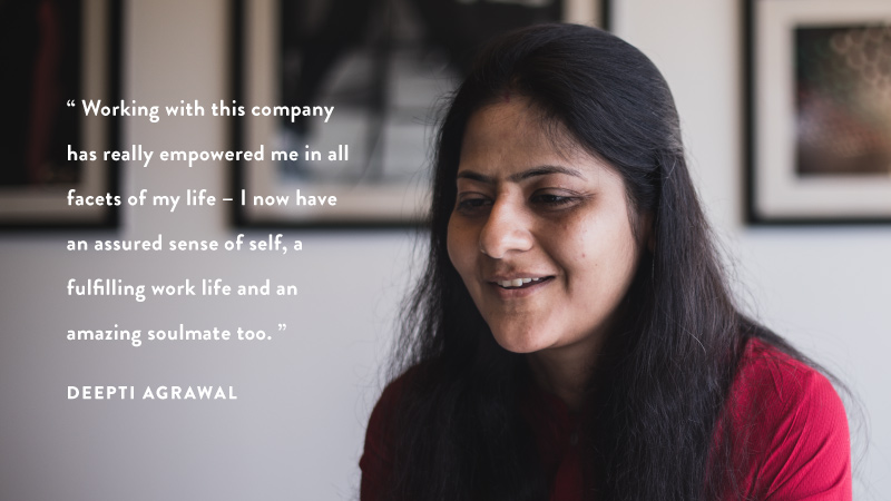 #WomenOfFlipkart - Deepti Agrawal