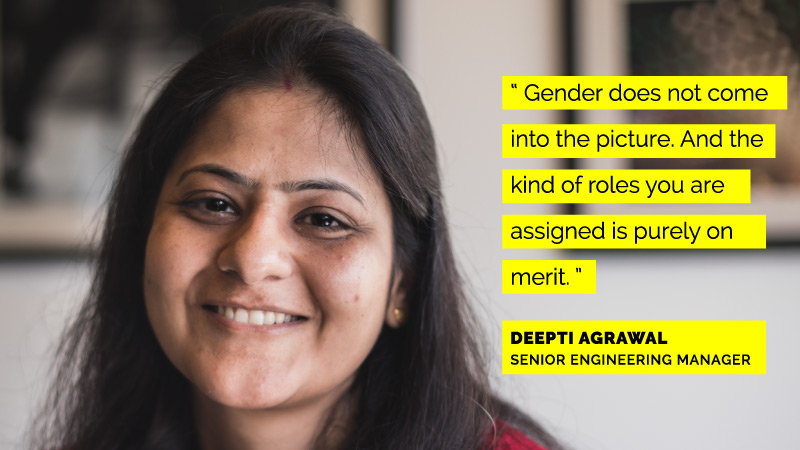 Women Engineers at Flipkart - Deepti Agrawal