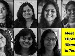 Women engineers at Flipkart