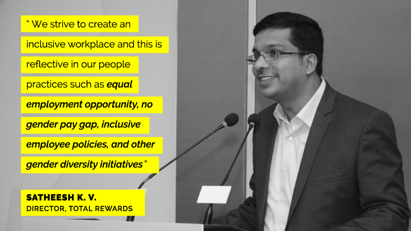 Satheesh KV on women engineers at Flipkart