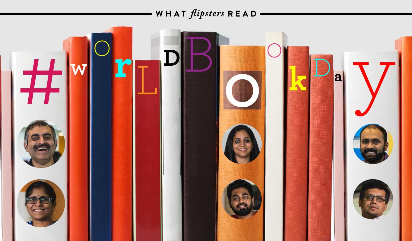 On #WorldBookDay meet Flipkart's leaders among readers