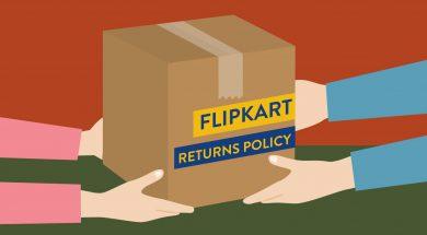 Flipkart product returns
