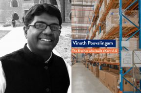 Vinoth Poovalingam - the fresher who started eKart