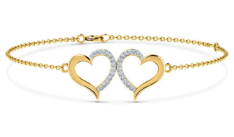 Heart-shaped jewellery