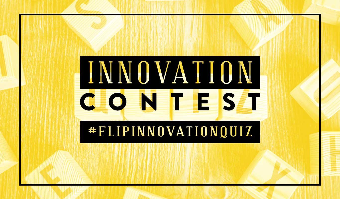 Play the #FlipInnovationQuiz – the Flipkart innovation contest