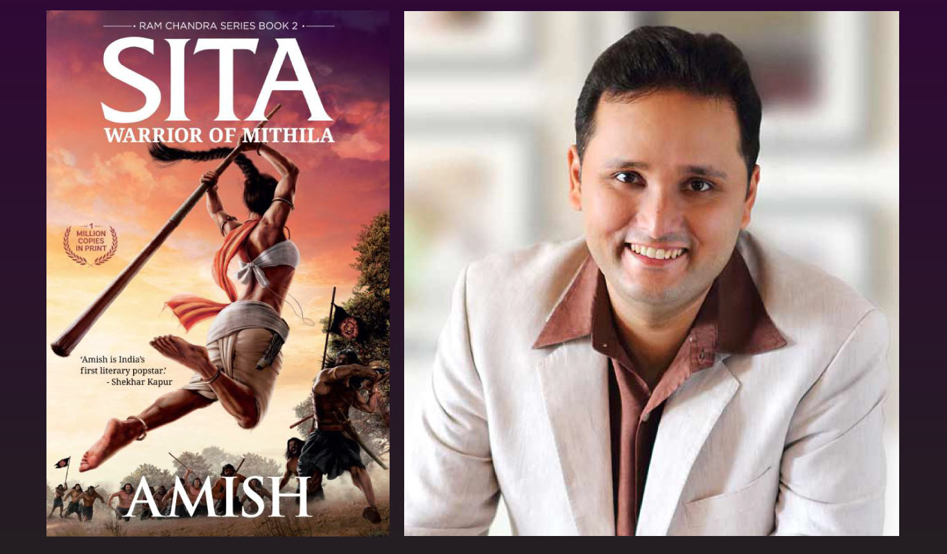 Interview: In Sita, Amish reveals a tough and tender heroine