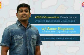 Amar Nagaram - #BIG10Innovation Tweetchat