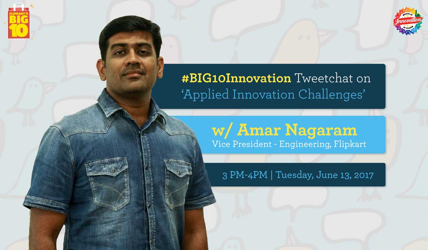 Applied Innovation Challenges – #BIG10Innovation Tweetchat with Amar Nagaram