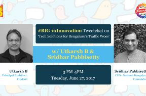 BIG10Innovation Tweetchat - Sridhar Pabbietty & Utkarsh B